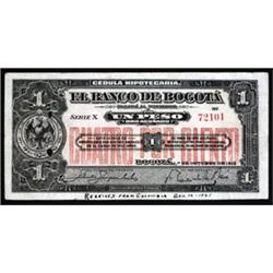 Banco De Bogota Counterfeit Banknote From ABNC Security Department.