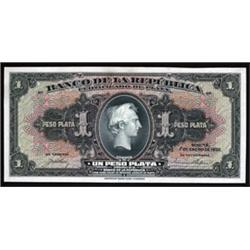 Banco De La Republica - Certificado De Plata Proof.