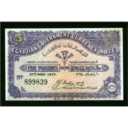 Egyptian Government Currency Note Essay by Barclay & Fry.