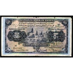 Bank of Egypt, 1913-17 Issue.