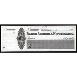 Banco Agricola Hipotecario Proof Check.
