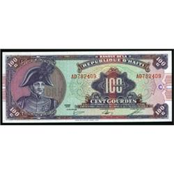 Banque Republique D'Haiti Banknote Group.