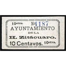 Ayuntamiento De La H.Zitacuaro, Unlisted Scrip Note.