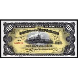 Republica Del Paraguay, Banco De La Republica 1907 Waterlow Issue.