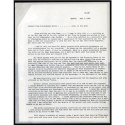 Banco De Espana Correspondence Relating to ABNC Agent S.B.Camacho.