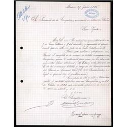 Banco De Espana Correspondence to ABNC Regarding Banknote Payments.