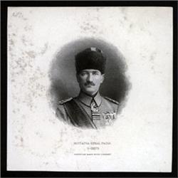 Mustapha Kemal Pacha, Republic of Turkey Proof Vignette Pair.
