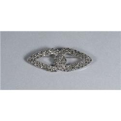 A Sterling Silver and Marcasite Pendant,
