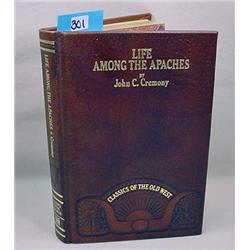"""1981 """"Life Among The Apaches"""" Hardcover Book - Cla"""