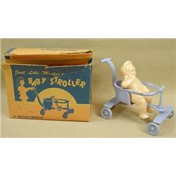 """Vintage Jeryco """"Just Like Mother'S"""" Baby Stroller"""
