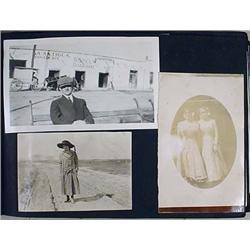 C. 1920'S Photo Album W/ Photos - Incl. What Appea