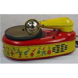 Vintage Lindstrom Corp. Childs Electronic Phonogra