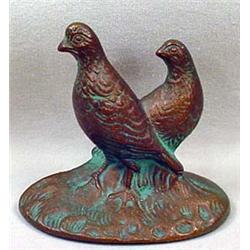 Antique Brass Figural Bird Bottle Opener