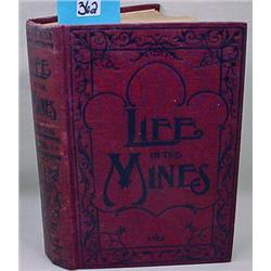 """1898 """"Life In The Mines Or Crime Avenged"""" Hardcove"""