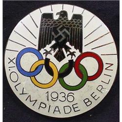 Ww2 German Nazi 1936 Berlin Olympics Starter Ename
