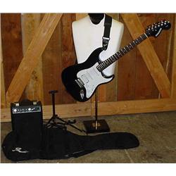 Fender Starcaster Electric Guitar W/ Fender Sp 10