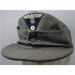 Ww2 German Nazi Army Officer'S M-43 Field Cap