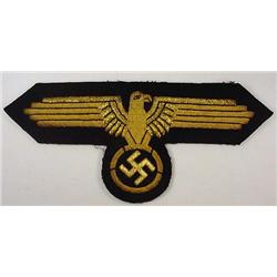 Ww2 German Nazi Waffen Ss Officer'S Bullion Cape E
