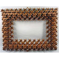 """Vintage Crown Of Thorns Frame - Approx. 17.5"""" X 13"""
