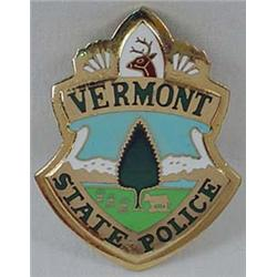 Vermont State Police Law Badge