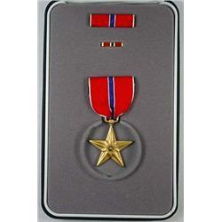 Us Iraqi War Bronze Star - Cased And Boxed - Amazi
