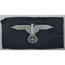 Ww2 German Nazi Waffen Ss Officer'S Sleeve Eagle -
