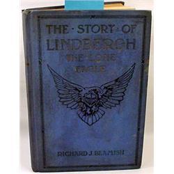 "1927 ""Lindbergh The Lone Eagle"" Salesman'S Sample"