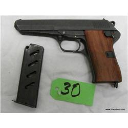 CZ52 7.62 TOK Semi Auto Pistol