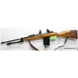 Mauser 8mm? Bolt Action Rifle w/Aftrmkt Mag+Tripod
