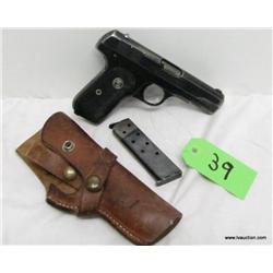 COLT Automatic .32 Semi Auto Pistol