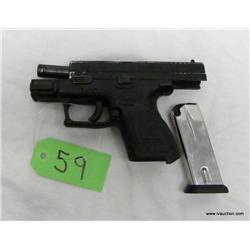 Springfield XP9 9mm Sub Compact Semi Auto Pistol