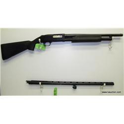 Mossberg 500A 12ga Pump Action Shotgun w/2 Barrels