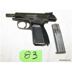 Makarov IBEZ K.B.I. 9mm Semi Auto Pistol