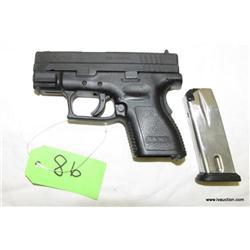 Springfield XD-9 9mm Sub Compact Semi Auto Pistol