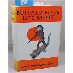 "1947 ""An Autobiography Of Buffalo Bill"" Hardcover"