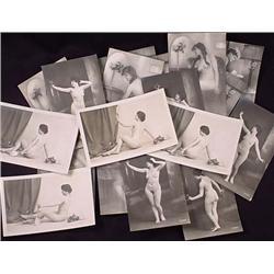 Lot Of Vintage Risque Nude Ladies Postcards