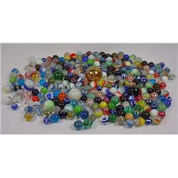 Large Lot Of Vintage Marbles - Incl. Shooters