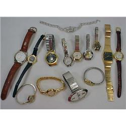 Lot Of Mens And Ladies Wrist Watches - Incl. Carav