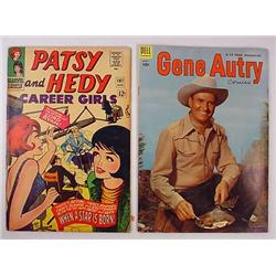 Lot Of 2 Vintage Comic Books - Gene Autry And Pats