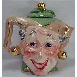 Vintage Figural Jester Teapot - Artist Signed Jake