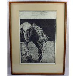 "1968 ""Lo-Yang Horse"" Framed Art Piece - Ltd. Ed, 1"