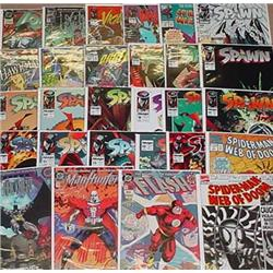 Large Lot Of Comic Books - Incl. Spider-Man, Flash