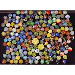 Lot Of Vintage Marbles Incl. Shooters