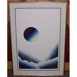 "Large ""Silent Planet"" Ltd. Ed. Signed Art - Framed"