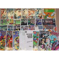 Large Lot Of Comic Books - Incl. Legion, Zero Hour