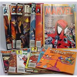 Lot Of Vintage Comic Books And Magazines - Incl. M
