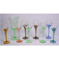 Lot Of Vintage Glass Stemware - Depression Piece H
