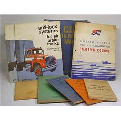 Lot Of Vintage Manuals - Incl. Car, Military, Weld