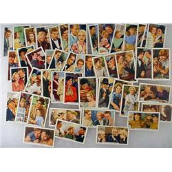 Large Lot Of Gallaher Film Episodes Cigarette Card