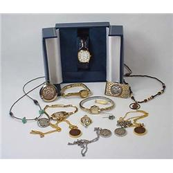 Lot Of Vintage Jewelry Incl. Watches